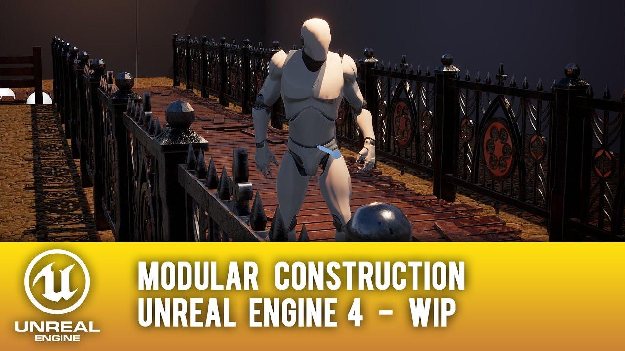 Ue4 modular construction blueprint fence and floor tutorial in ue4 modular construction blueprint fence and floor tutorial in description malvernweather Choice Image