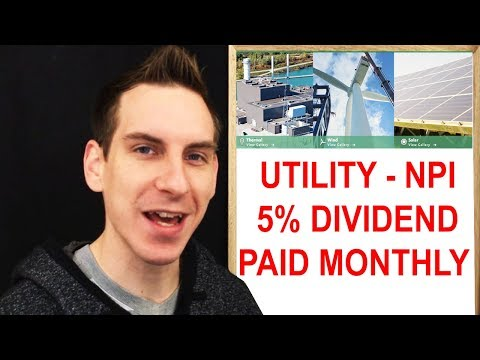 Best Utility Stock 5% Dividend Yield Paid Monthly Northland Power