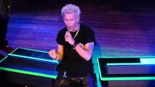 """Bitter Pill"" Billy Idol@House of Blues Atlantic City 5/31/14"