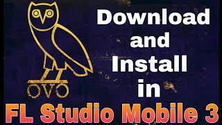 Gambar cover Free OVO Sound Samples Full Pack Download and install in FLM3