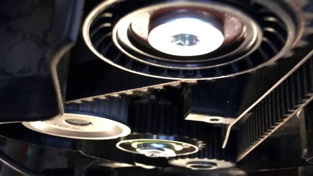 Opel X16xel Timing Belt Tensioner Youtube