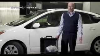 как сделать химчистку салона автомобиля видео