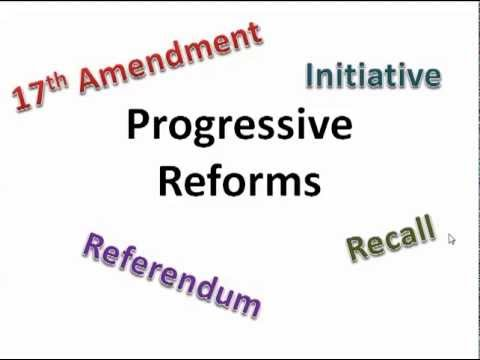 GPS SSUSH 13e Initiative, Referendum, Recall, 17th Amendment [Video 73]