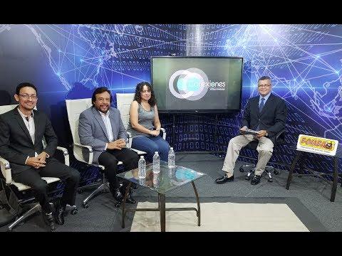 Ima Guirola, Félix Ulloa y Roberto Ocampo en Conexiones con William Meléndez