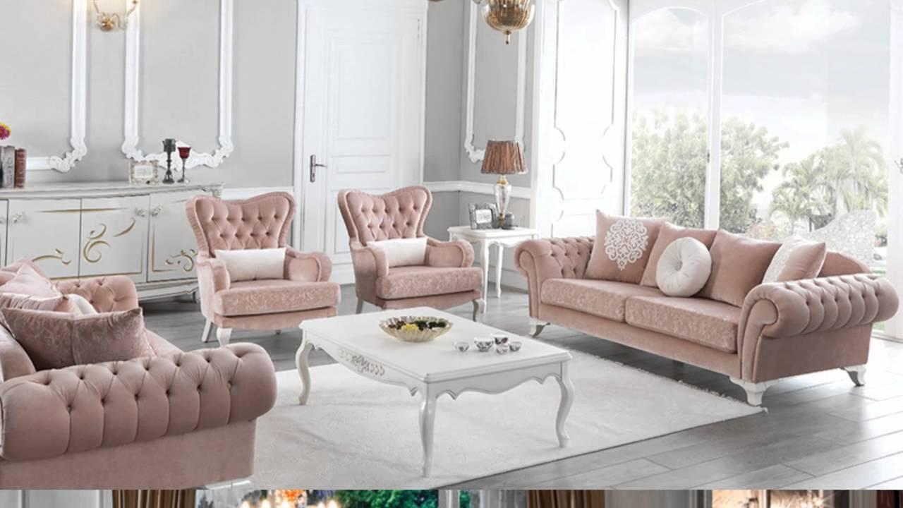 Modern klasik oturma salon takımları