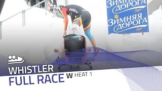 Whistler | BMW IBSF World Cup 2016/2017 - Women's Bobsleigh Heat 1 | IBSF Official