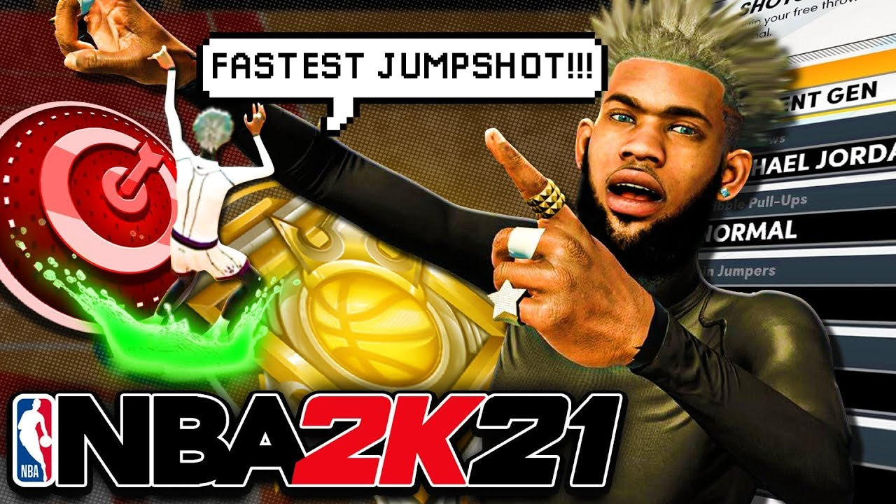 THE FASTEST JUMPSHOT IN NBA 2K21! NO CONTEST HIGHEST GREEN WINDOW AFTER PATCH NBA 2K21 BEST JUMPSHOT