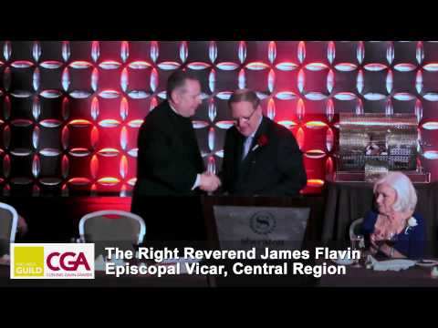 CGA Awards 2014 Benediction, Reverend James Flavin