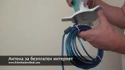 Антена за безплатен интернет
