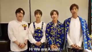 A.cian's support towards Kpop Boot Camp Australia 2016! SD