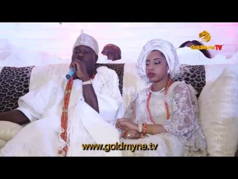 Video News: Ooni of Ife's wedding to Wuraola
