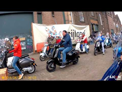 Vespa Parade 70 jaar 2016 Papaleo