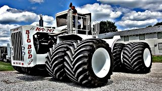 World's LARGEST Tractor Gets World's LARGEST Ag Tires! - BIG BUD 747