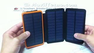 Cargadores solares portátiles para móviles - MovilTecno.com