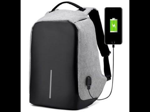 meilleur sac dos antivol etanche multi compartiments 2xdeal com youtube. Black Bedroom Furniture Sets. Home Design Ideas