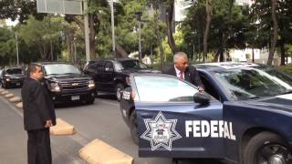 Jerry Brown motorcade