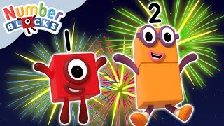 Numberblocks - Fireworks Night! | Learn to Count | Guy Fawkes Night Special