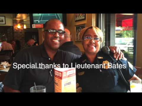 Baton Rouge Officers honored 9:6:16, music by Vince Gill