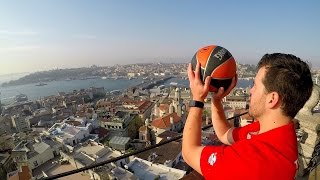 TRICK SHOTS in ISTANBUL!