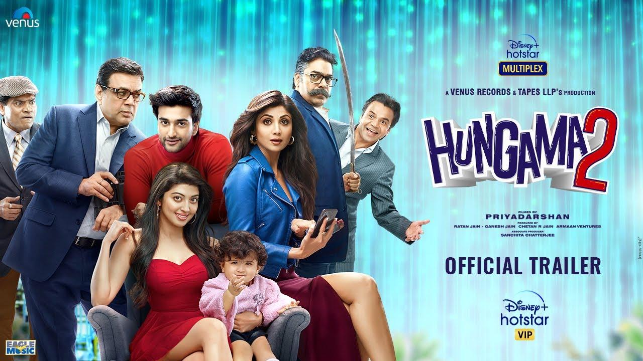 Download Hungama 2 Official Trailer   Shilpa Shetty, Paresh Rawal, Meezaan, Pranitha, Priyadarshan   July 23
