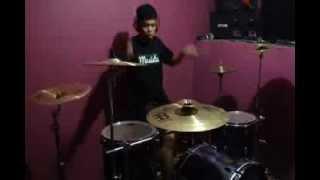 I the shelter feat Danindra - Sebuah Tawa Dan Cerita (Drum cover) - Refriari Masista