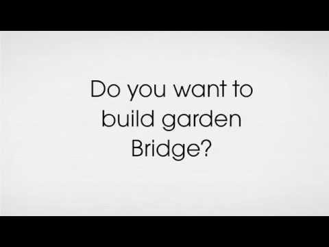 Garden Bridge Plans do not buy expensive garden bridges YouTube