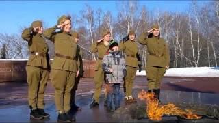 Видео-поздравление коллег-мужчин с 23 февраля
