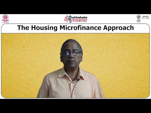 Module XXVII Housing Microfinance
