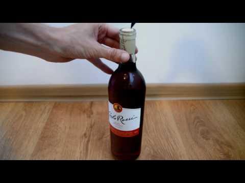 Jak otworzyć wino nożem?
