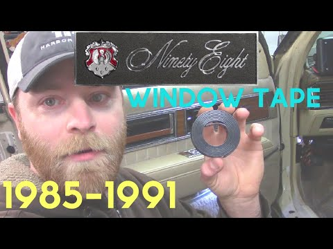 1986 Oldsmobile Window Tape and Regulator Guide Replacement