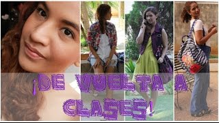¡De vuelta a Clases! 1 Maquillaje y 3 Outfits ♥ ft. @Tufashionpetite Thumbnail