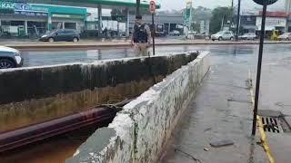 Chuvas intensas em Pará de Minas: Água Limpa e ribeirão Paciência correm risco de transbordarem