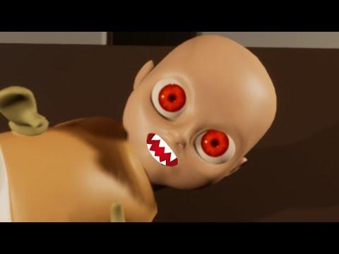 МОЙ РЕБЕНОК ДЕМОН ИЗ АДА !!! - The Baby In Yellow прохождение адский ребенок