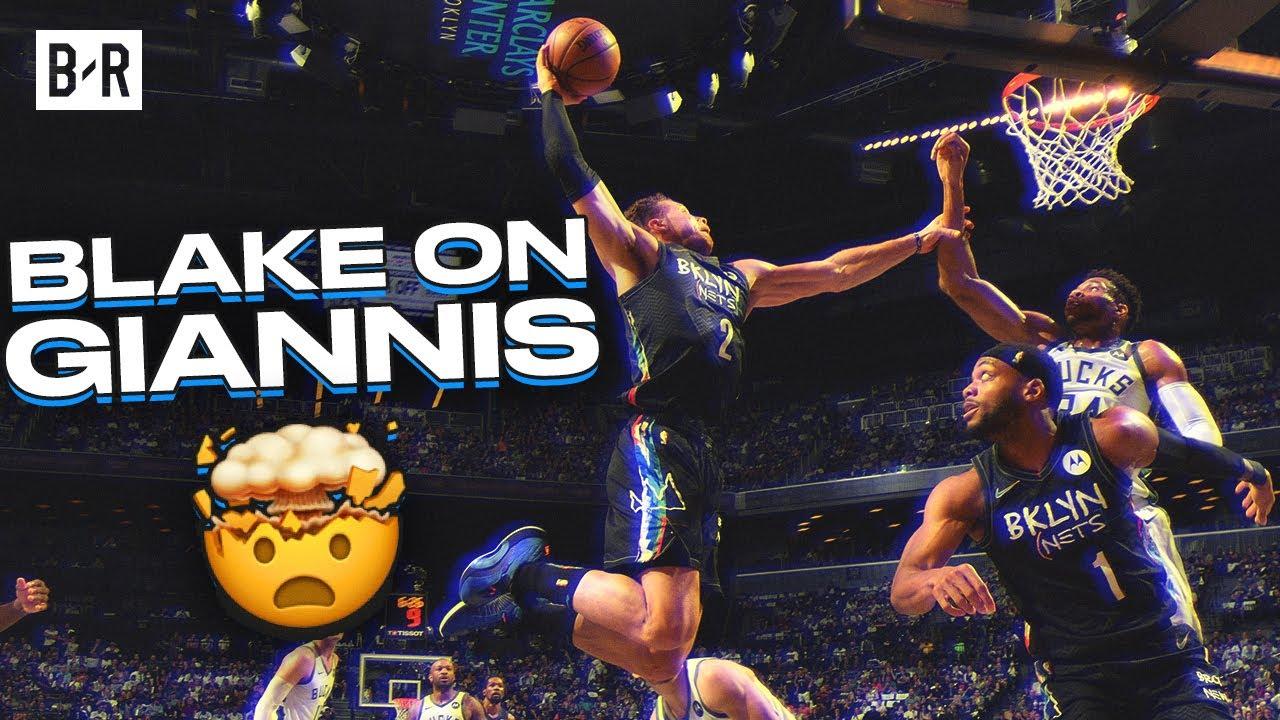 Blake Griffin Throws Down Filthy Dunk On Giannis Antetokounmpo In Game 2 Youtube