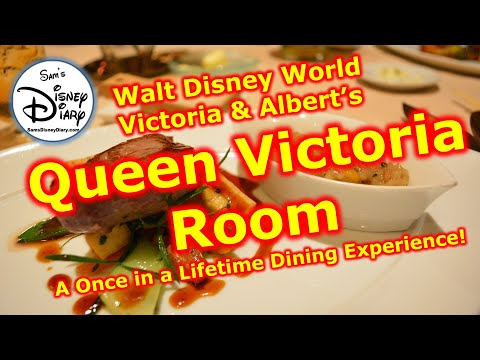 #62: Dining in the Queen Victoria Room (Victoria and Albert
