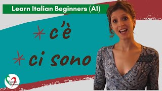 6. Learn Italian Beginners (A1): C'è / ci sono (there is / there are)