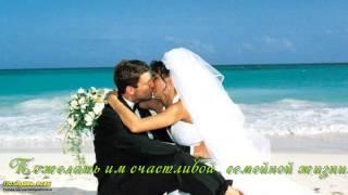 Красивый Тост за жениха и невесту!