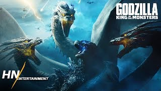 Ghidorah's Fighting Style & Abilities | Godzilla: King of the Monsters