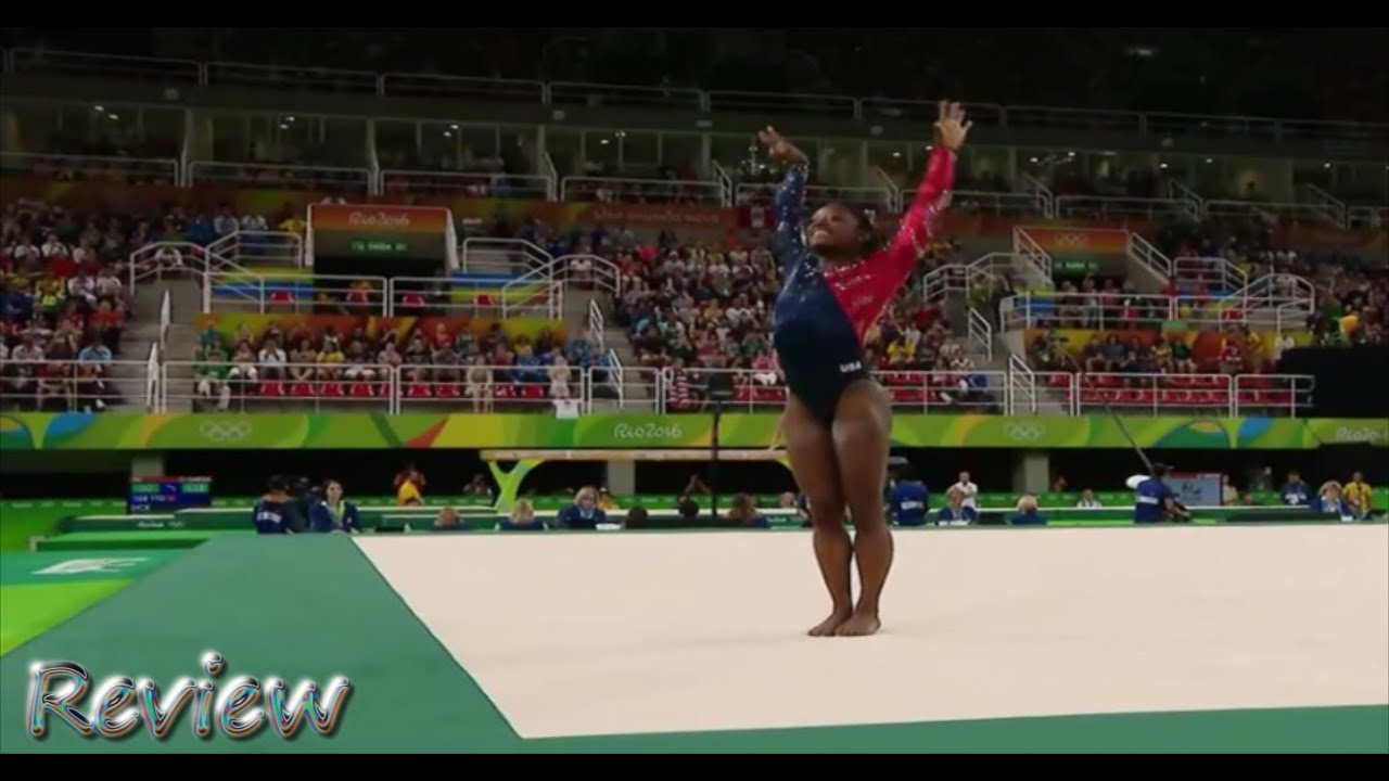 Olympic gymnastics 2016 rio simone biles floor routine for Floor gymnastics