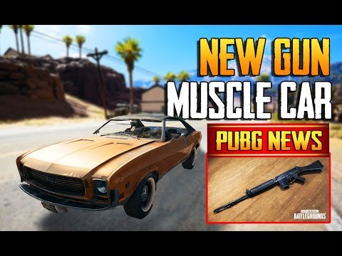 PUBG NEWS | NEW GUN, MUSCLE CAR, WEAPON BALANCING, MAP SELECTION | PUBG PC 1.0 #12 PATCH