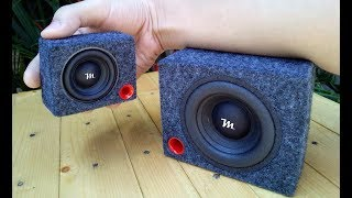 RC Cars Mini Subwoofer | BASS TEST - FEEL THE BASS (BASS BOOSTED)