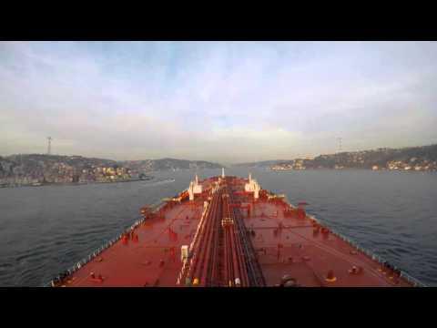 M/T TEIDE SPIRIT - Turkish Straits - Northbound Transits - Time Lapse