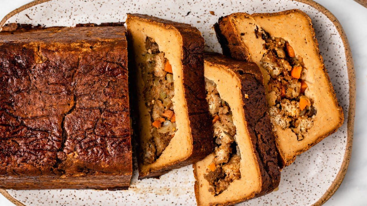 Homemade Vegan Holiday Roast (It's Gluten Free, too!)