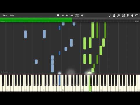 Otouto Mitai na Sonzai - Shigatsu wa Kimi no Uso [Piano Tutorial] (Synthesia)