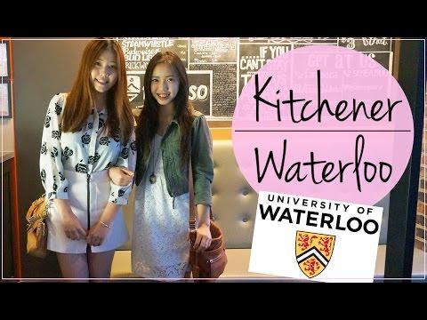 KITCHENER-WATERLOO ♡ 加拿大 UW & Badminton vlog   SHERRY W.