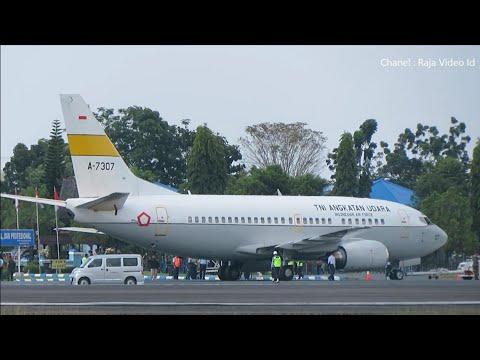 Indonesia Air Force Take Off di Bandara Syamsudin Noor Banjarmasin