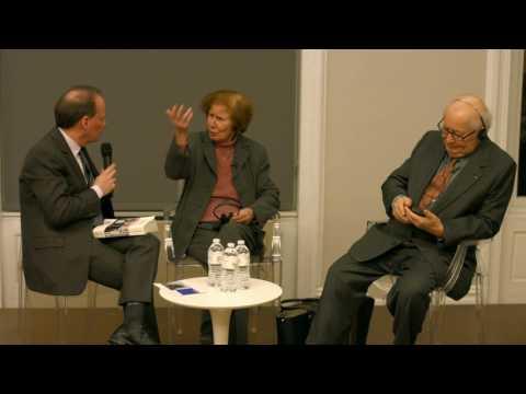 Serge and Beate Klarsfeld in conversation with Adam Gopnik
