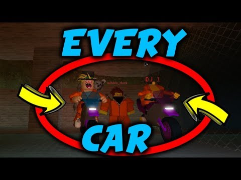We got EVERY JailBreak car in the *NEW* Sewers! (New JailBreak Update)