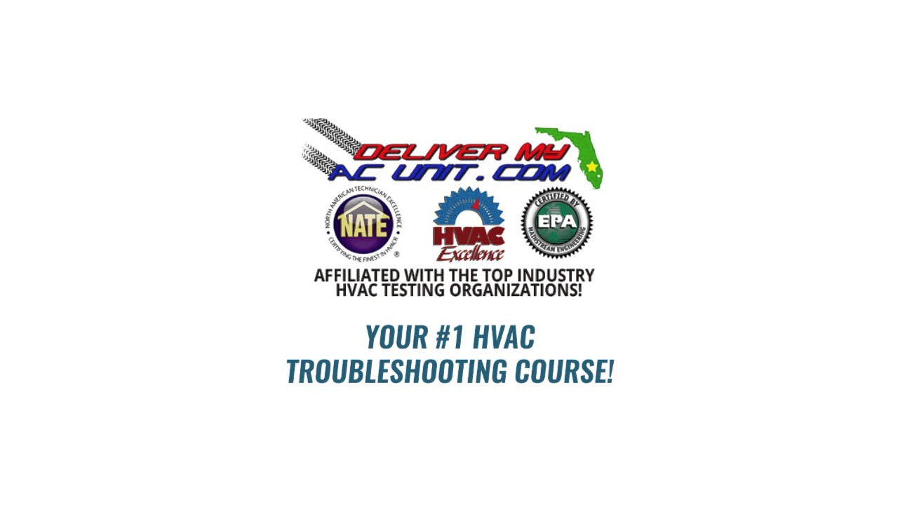 Florida state certified class a air conditioning contractor and epa - Air Conditioning School Certification Training In Orlando Fl