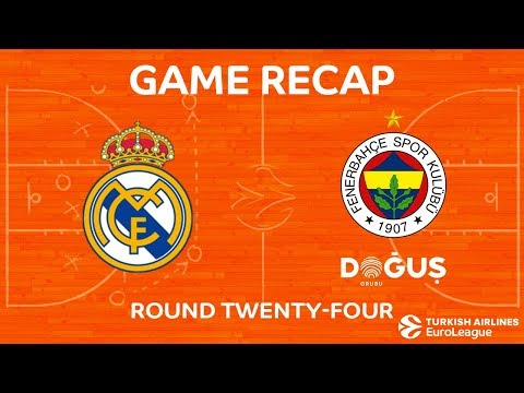 Highlights: Real Madrid - Fenerbahce Dogus Istanbul